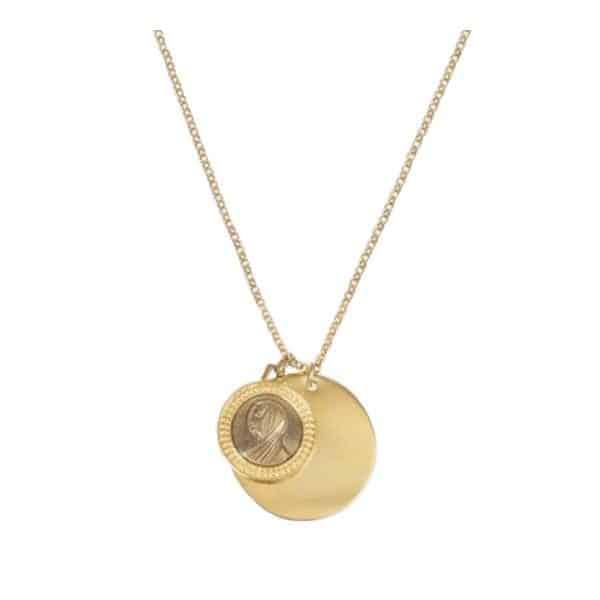 Medecine Douce Gold Icon Necklace | Jewellery
