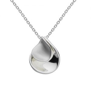 Kit Heath Jewellery Silver Petal Necklace | Pendant