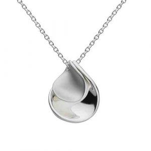 Kit Heath Jewellery Silver Petal Necklace | Pendant