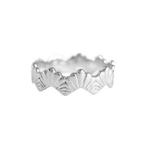 Rosie kent Jewellery Silver Loggia Stacking Ring