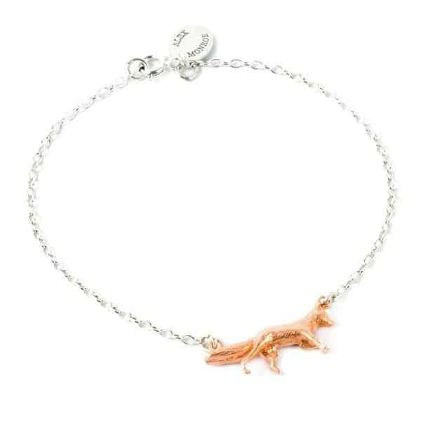 Alex Monroe Fox Bracelet