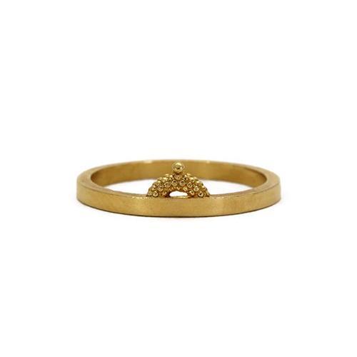 Rosie Kent Jewellery Gold Vermeil Pectus Ring
