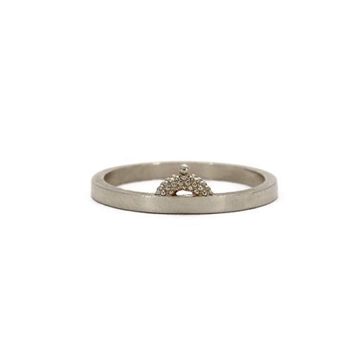 Rosie Kent Silver Pectus Ring