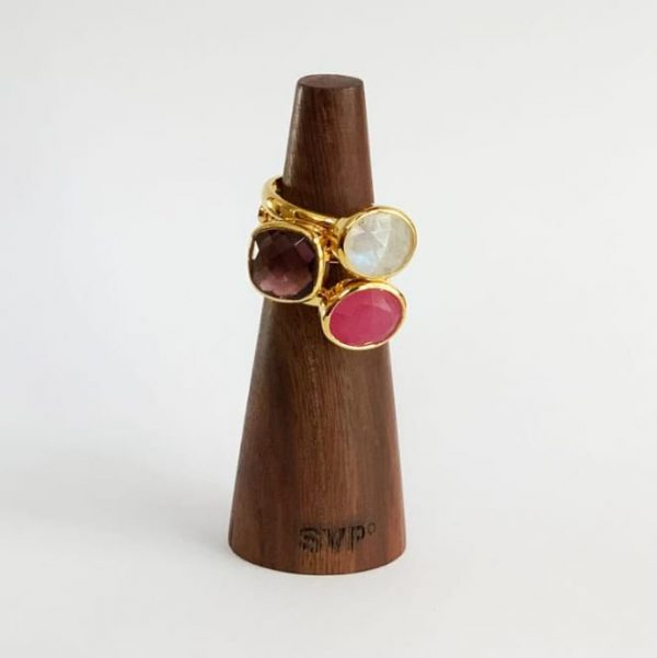Wooden mandrel ring sizer, by SVP Jewellery.
