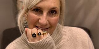Sarah Parham designer and founder of SVP adjustable rings