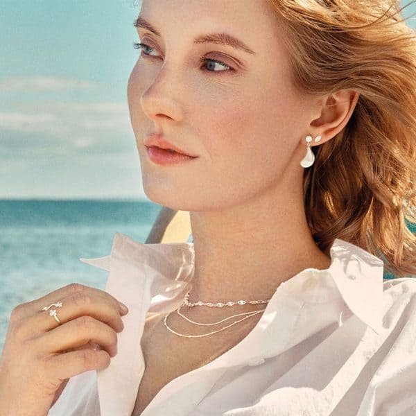 Sterling silver ocean stars necklace by pernille corydon