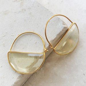 Imogen Mini Lemon Earring Shyla Jewellery