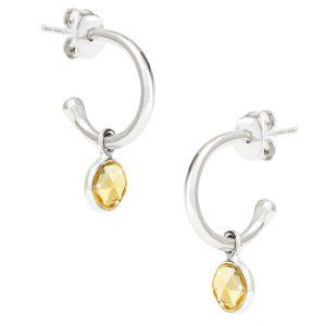 Luceir November Birthstone Hoop earrings
