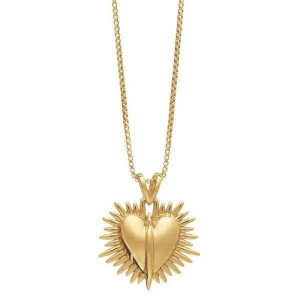 Rachel Jackson electric goddess heart necklace