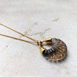 Etienne Smoky necklace by Shyla London