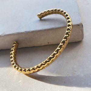 Shyla London Gold plated Solange Bangle