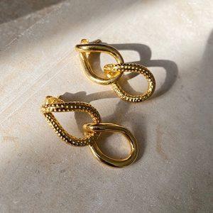 Shyla London Gold Tibi Earrings